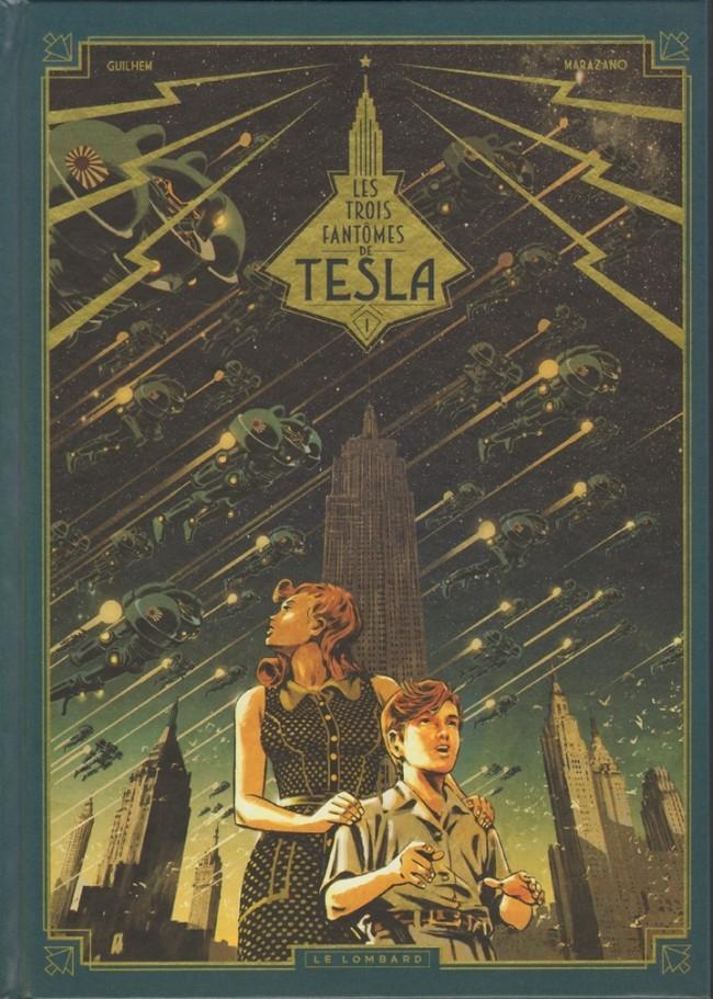 Couverture de Les trois Fantômes de Tesla -1- Le mystère Chtokavien
