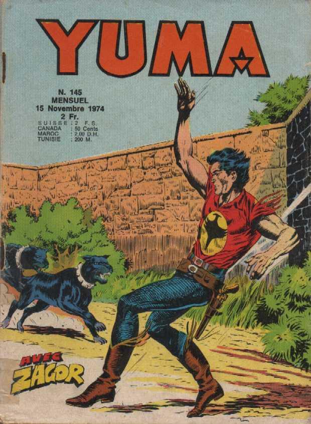 Couverture de Yuma (1re série) -145- La nuit des sorciers