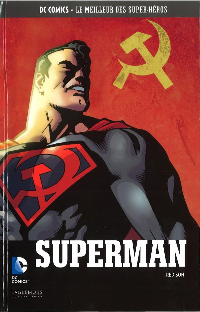 Couverture de DC Comics - Le Meilleur des Super-Héros -25- Superman - Red Son
