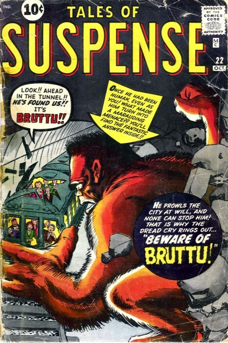 Couverture de Tales of suspense Vol. 1 (Marvel comics - 1959) -22-