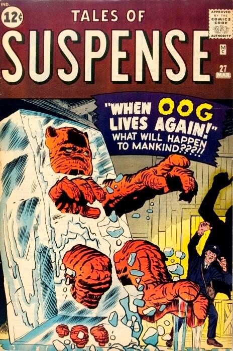 Couverture de Tales of suspense Vol. 1 (Marvel comics - 1959) -27-