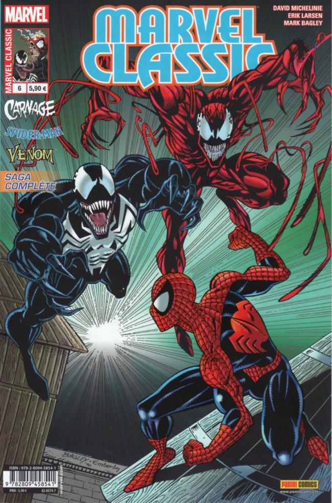 Couverture de Marvel Classic (2e série) -6- Alliance contre nature