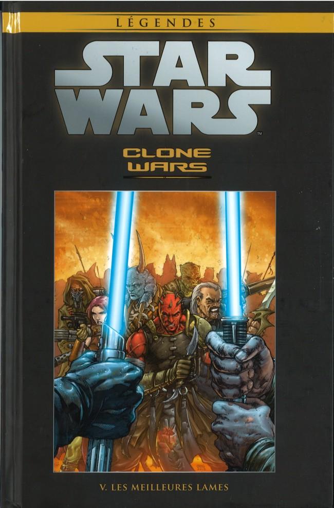 Couverture de Star Wars - Légendes - La Collection (Hachette) -2030- Clone Wars - V. Les Meilleurs Lames