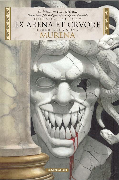 Couverture de Murena (en latin) -2- Ex arena et cruore