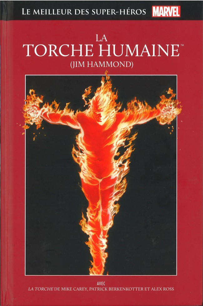 Couverture de Marvel Comics : Le meilleur des Super-Héros - La collection (Hachette) -15- La Torche Humaine (Jim Hammond)