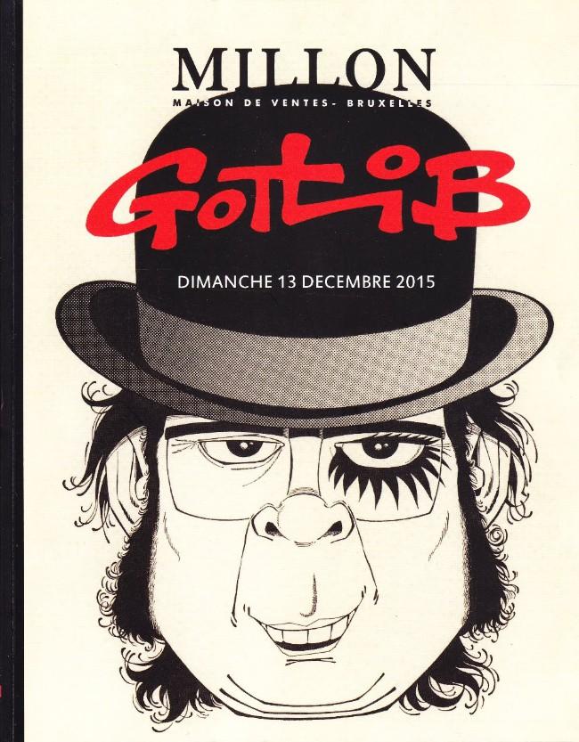 Couverture de (Catalogues) Ventes aux enchères - Millon - Millon - Gotlib - Dimanche 13 décembre 2015 - Duplex Paris-Bruxelles #10