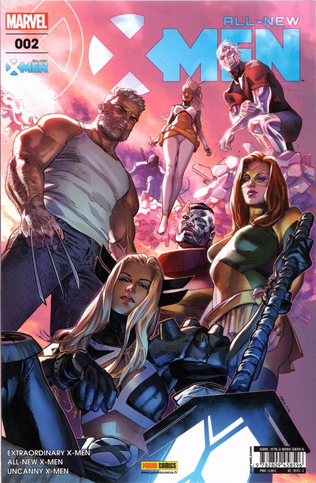 Couverture de All-New X-Men -2- La Survie du plus fort