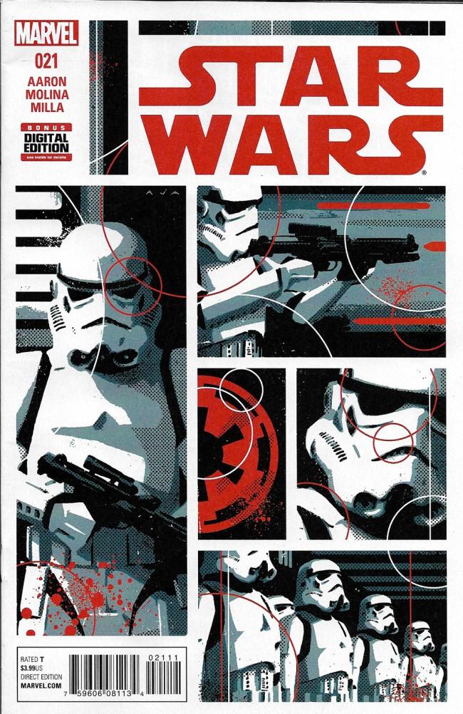Couverture de Star Wars (2015) -21- Book V, Part I : The Last Flight Of The Harbinger