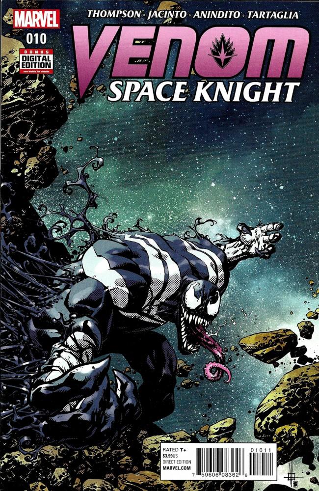 Couverture de Venom: Space Knight (2016) -10- Issue 10