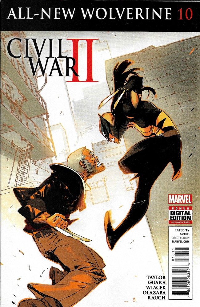 Couverture de All-New Wolverine (2016) -10- Issue 10