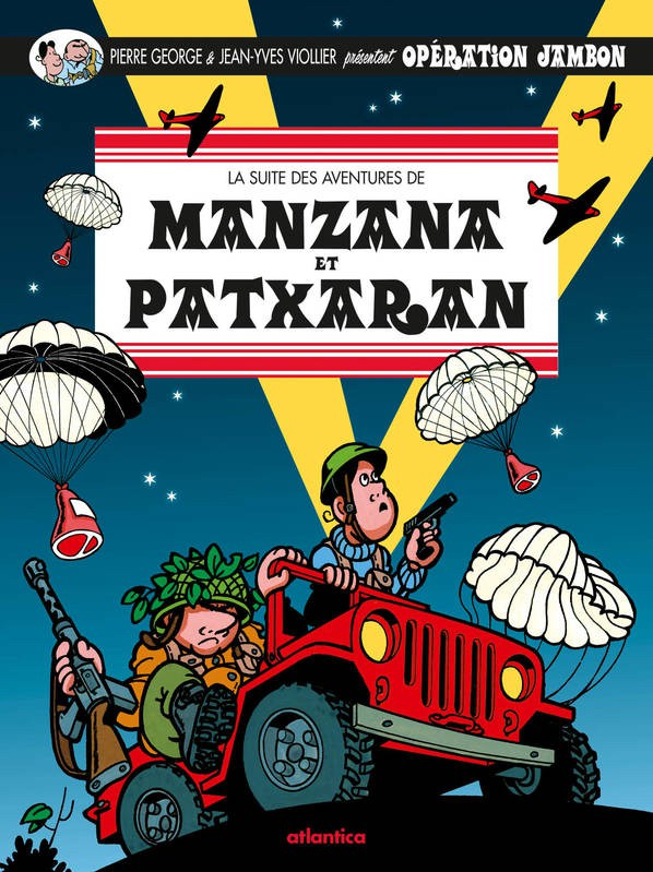 Couverture de Manzana et Patxaran -3- Operation Jambon