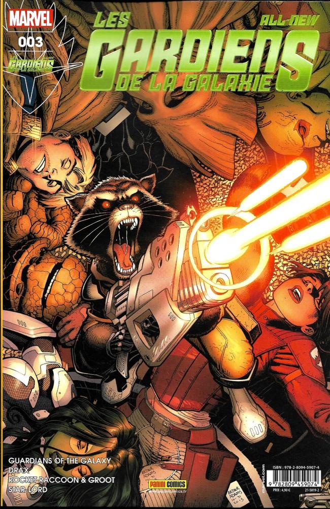Couverture de All-New Les Gardiens de la Galaxie -3- Seigneur Rakzoon