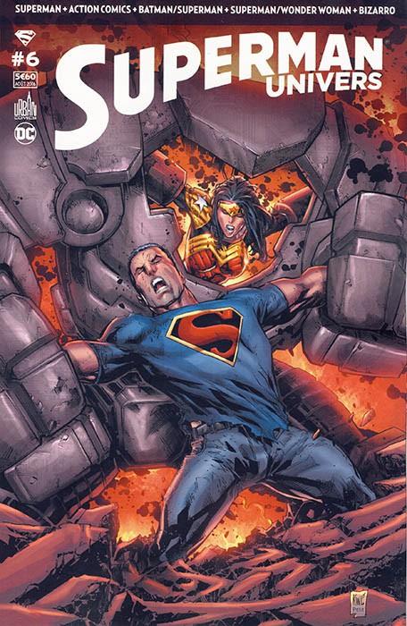 Couverture de Superman Univers -6- Numéro 6