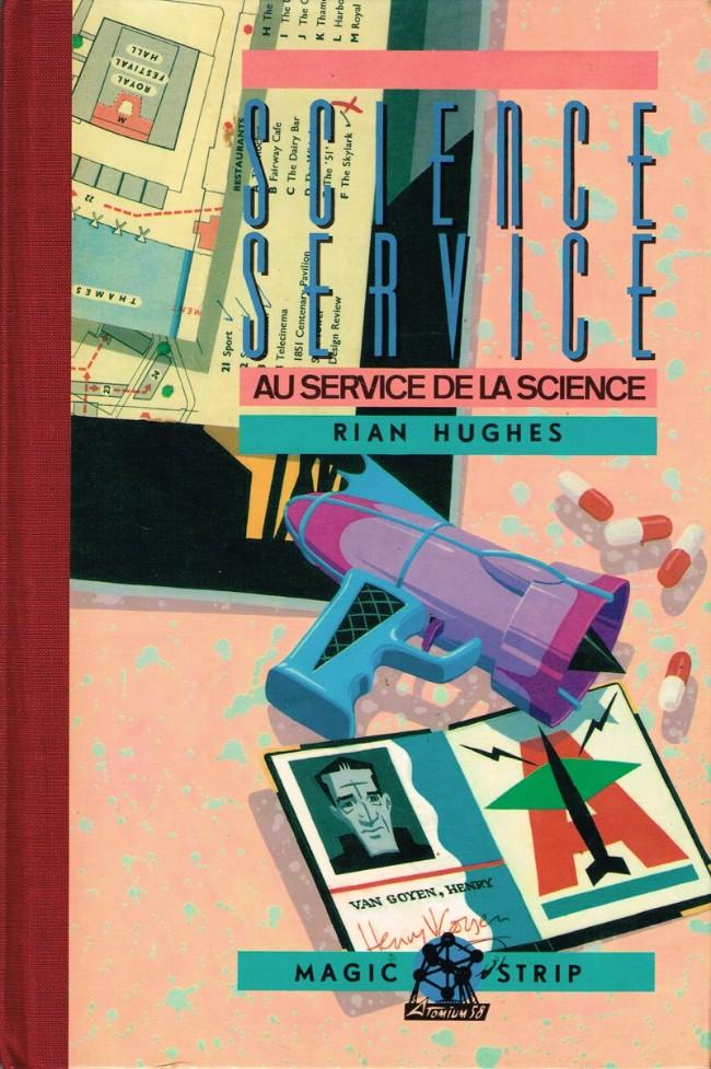 Couverture de Science service