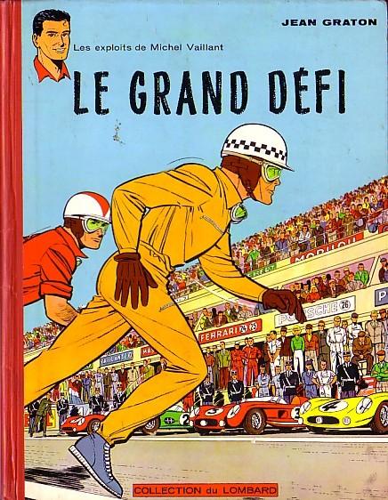 Couverture de Michel Vaillant -1- Le grand défi