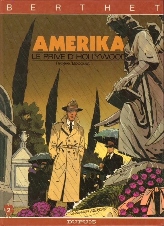 Couverture de Le privé d'Hollywood -2- Amerika