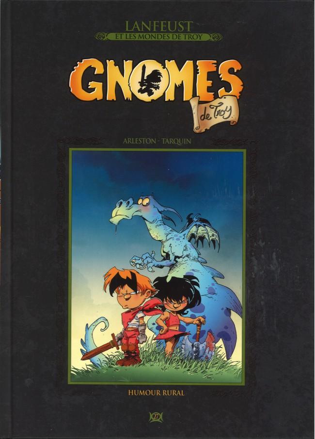 Couverture de Lanfeust et les mondes de Troy - La collection (Hachette) -27- Gnomes de Troy - Humour Rural
