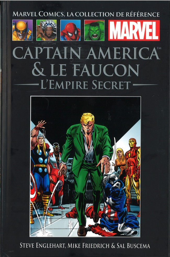 Couverture de Marvel Comics - La collection (Hachette) -65XXVIII- Captain America & Le Faucon - L'Empire Secret