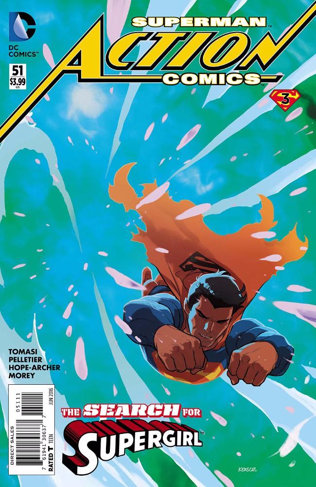 Couverture de Action Comics (2011) -51- The Final Days of Superman - Part 3 : Dazed and Confused