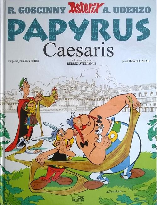 Couverture de Astérix (en latin) -36- Papyrus Caesaris