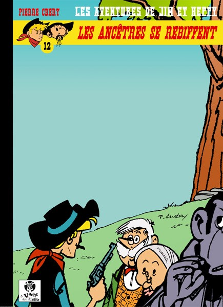 Couverture de Jim L'astucieux (Les aventures de) - Jim Aydumien -12- Les ancêtres se rebiffent