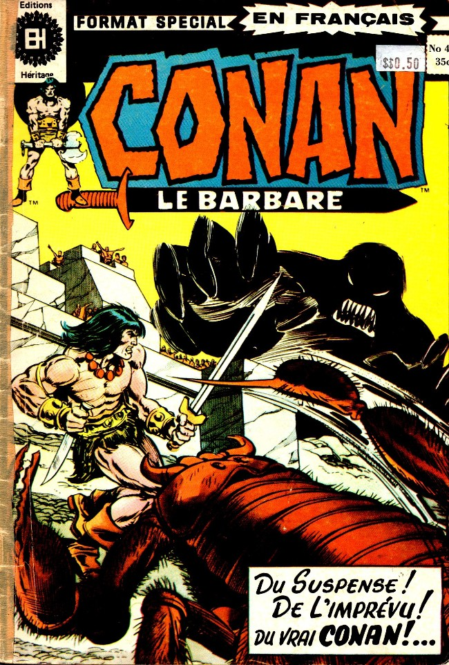 Couverture de Conan le barbare (Éditions Héritage) -44- La ballade de Bêlit