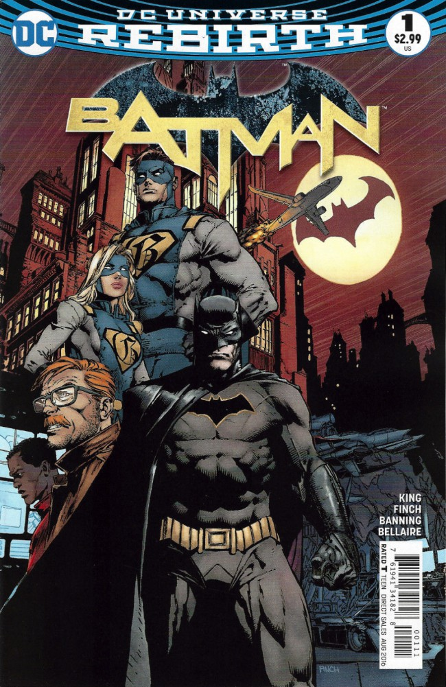 Couverture de Batman (2016) -1- I am Gotham, Part One