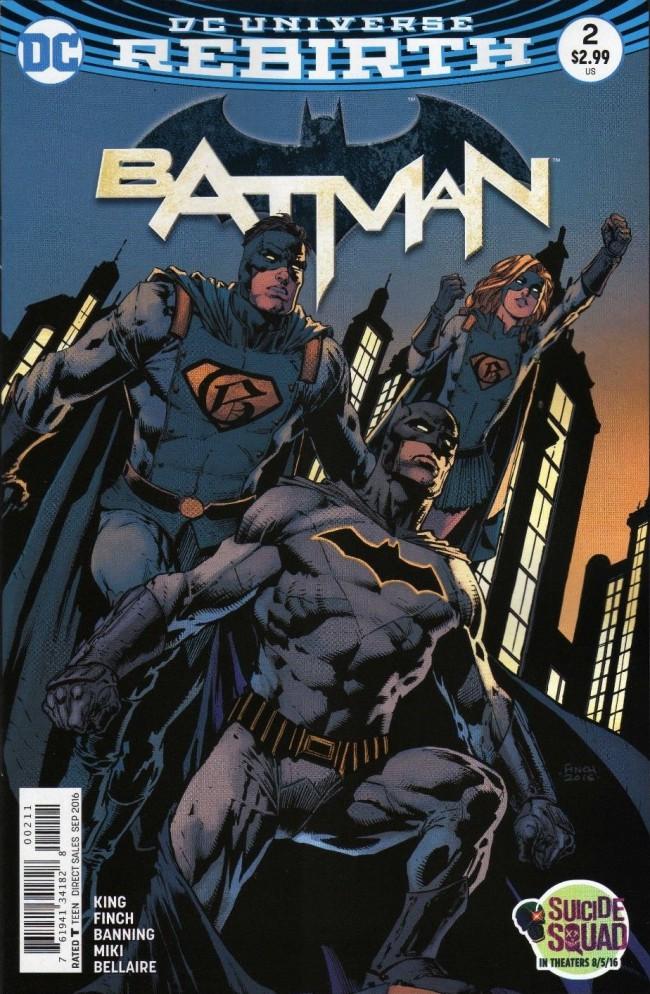 Couverture de Batman (2016) -2- I am Gotham, Part Two