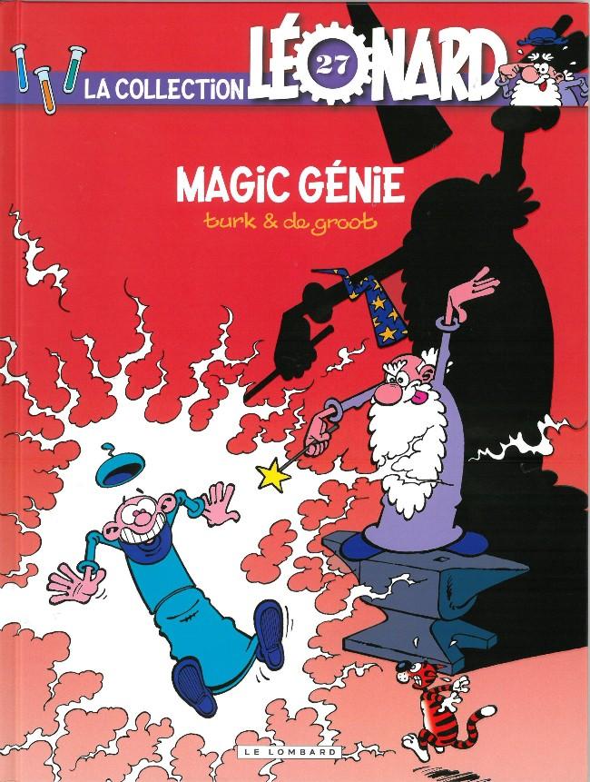 Couverture de Léonard - La Collection (Prisma Media) -2732- Magic génie