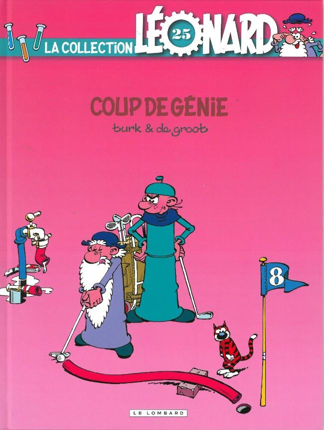 Couverture de Léonard - La Collection (Prisma Media) -258- Coup de génie