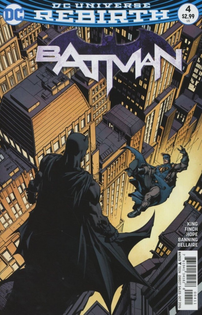 Couverture de Batman (2016) -4- I am Gotham, Part Four