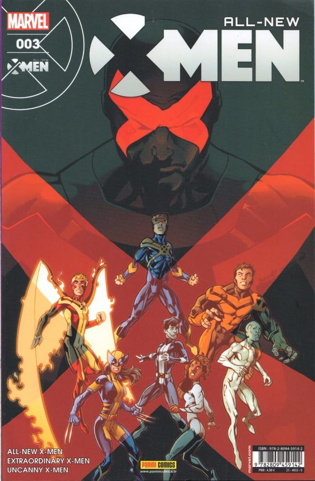 Couverture de All-New X-Men -3- Égratignures
