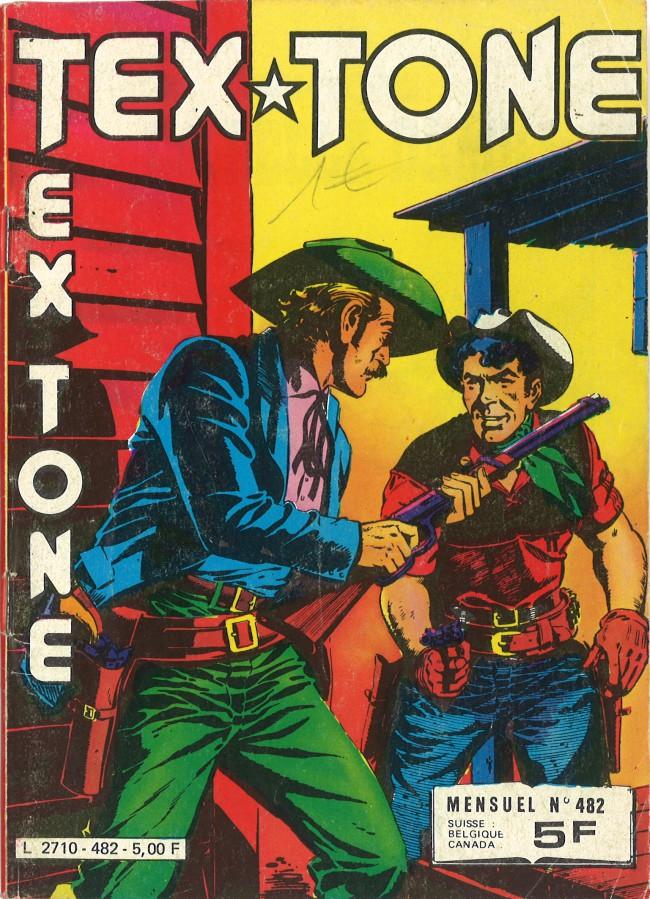 Couverture de Tex-Tone -482- La belle dame