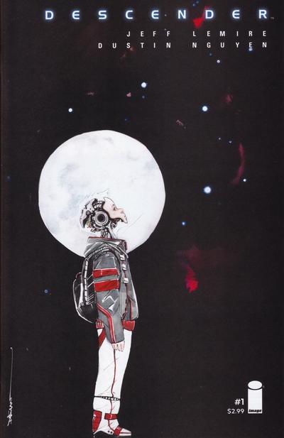 Couverture de Descender (Image comics - 2015) -1- Tin Stars: Part 1