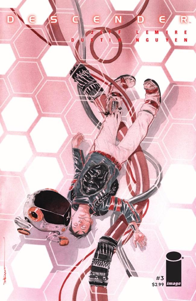 Couverture de Descender (Image comics - 2015) -3- Tin Stars: Part 3