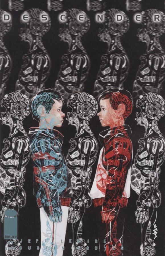 Couverture de Descender (Image comics - 2015) -7- Machine Moon: Part One