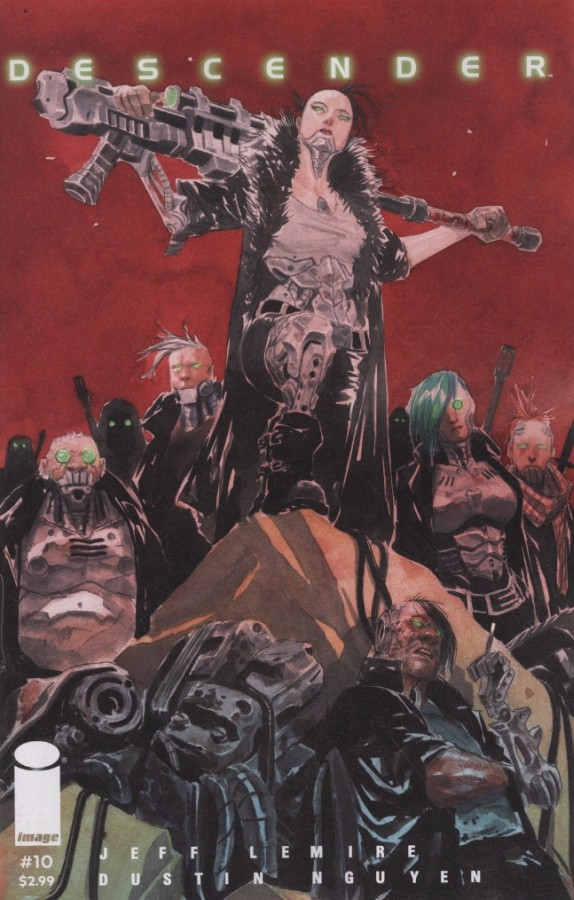 Couverture de Descender (Image comics - 2015) -10- Machine Moon: Part Four