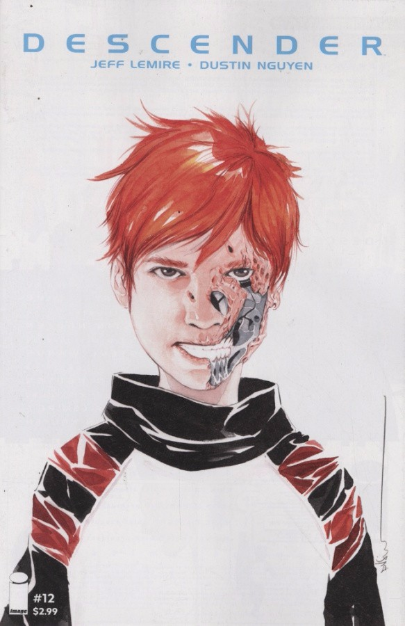 Couverture de Descender (2015) -12- Singularities 1 of 5
