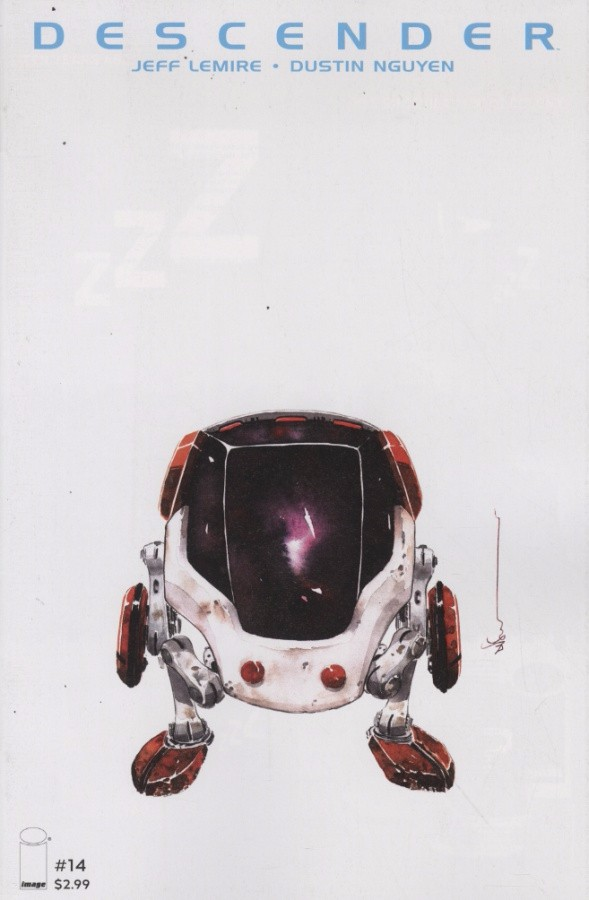Couverture de Descender (2015) -14- Singularities 3 of 5