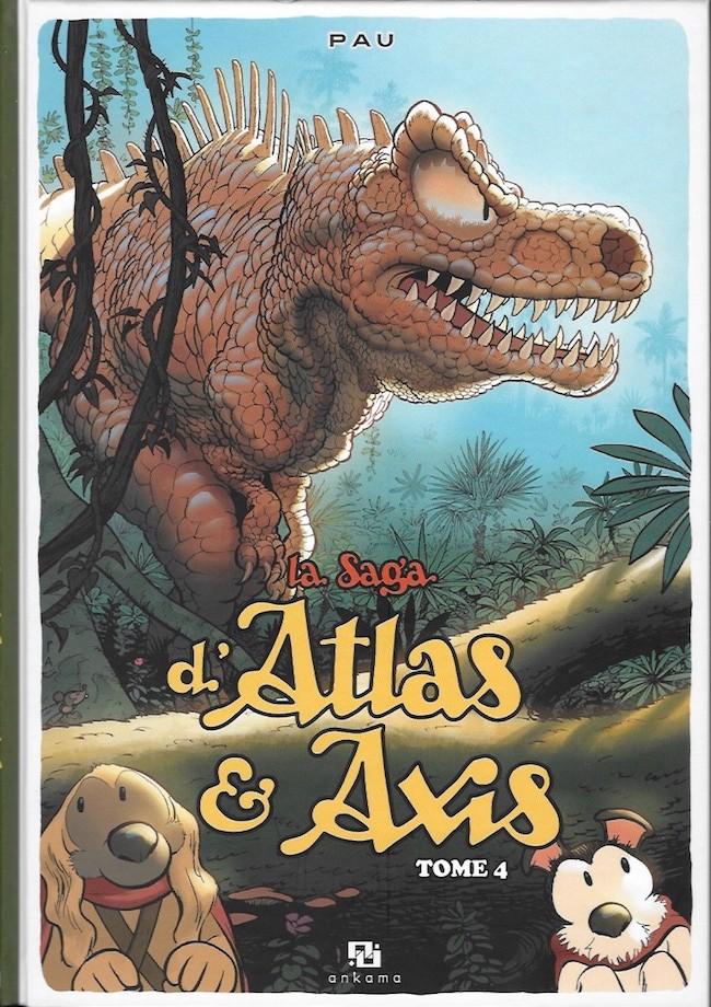 Couverture de La saga d'Atlas & Axis -4- Tome 4