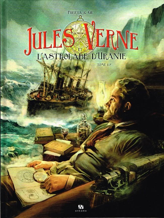 Couverture de Jules Verne et l'Astrolabe d'Uranie -1- Tome 1/2