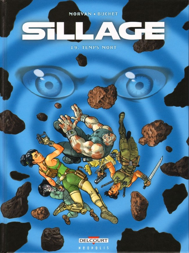 Couverture de Sillage -19- Temps mort