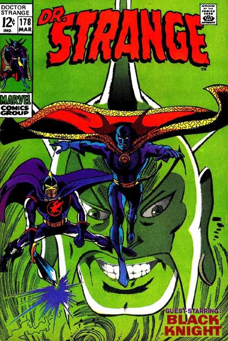 Couverture de Doctor Strange (1968) -178- ...With one Beside Him