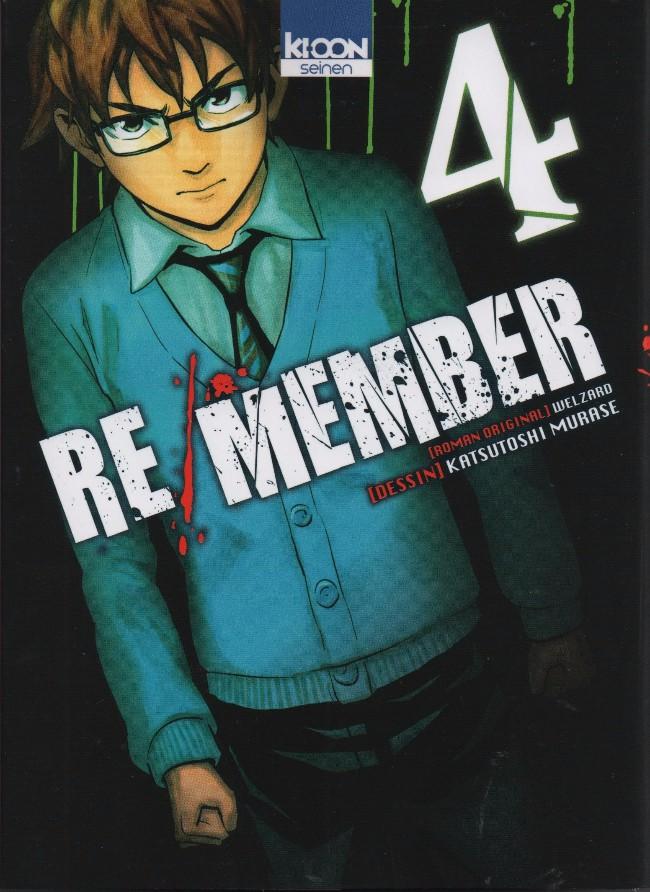 Couverture de Re/Member -4- Tome 4