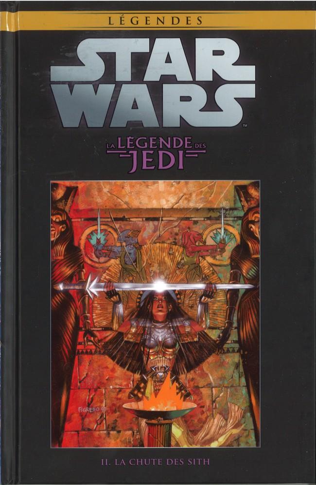Couverture de Star Wars - Légendes - La Collection (Hachette) -225- La Légende des Jedi - II. La Chûte des Sith
