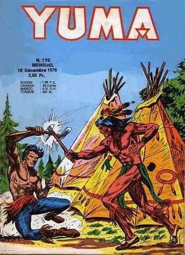 Couverture de Yuma (1re série) -170- Le defi