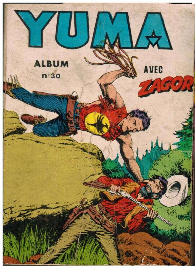 Couverture de Yuma (1re série) -Rec030- Album N°30 (du n°117 au n°120)