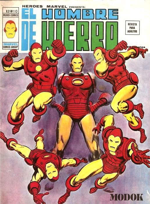Couverture de Héroes Marvel (Vol.2) -10- El hombre de hierro: Modok