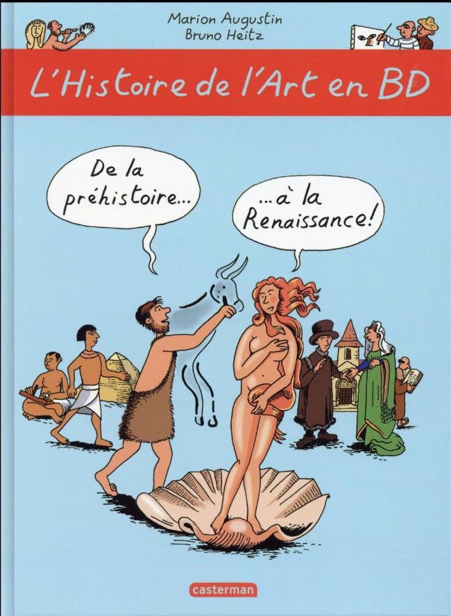 Couverture de L'histoire de l'art en BD -1- De la préhistoire... ...à la Renaissance !