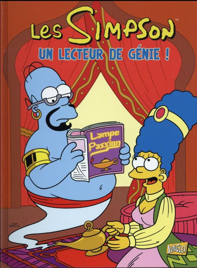 Couverture de Les simpson (Jungle !) -31- Un lecteur de génie !